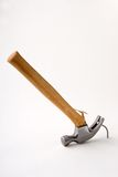 Broken Hammer and Nail Stock Images