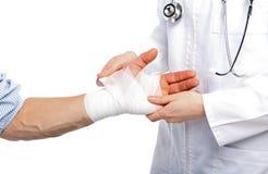 Broken hand Stock Photography