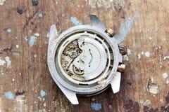 Broken hand watch Stock Photography