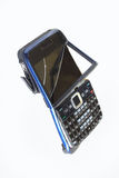 Broken handphone. Isolated by white background Royalty Free Stock Images