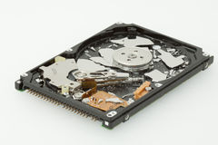 Broken hard disk drive Royalty Free Stock Photos