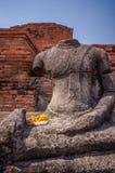 Broken headless Buddha image Royalty Free Stock Photography