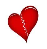 Broken heart stock photography