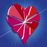 Broken Heart. An illustration of a Broken heart Stock Images