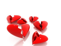Broken heart Stock Images