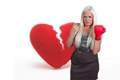Broken Heart Royalty Free Stock Photography