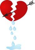 Broken heart Royalty Free Stock Photo