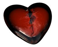 The broken heart Royalty Free Stock Photos