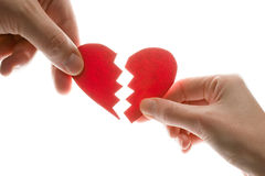 Free Broken Heart Royalty Free Stock Photo - 7888315