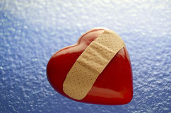 Broken Heart Bandaged Royalty Free Stock Image