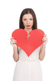 Broken heart. Royalty Free Stock Images