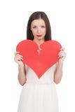 Broken heart. royalty free stock images
