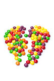 Broken heart candy Royalty Free Stock Photo