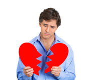 A broken heart Stock Photography
