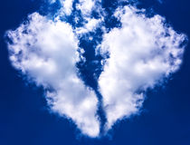 Broken Heart Cloud Stock Photo