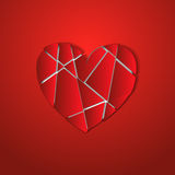 The broken heart Royalty Free Stock Photo