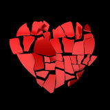 Broken heart Royalty Free Stock Photos
