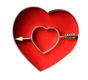 Broken heart sign Stock Photography