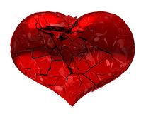 Broken Heart - unrequited love, death or pain Royalty Free Stock Image