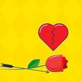 Broken heart Royalty Free Stock Photos