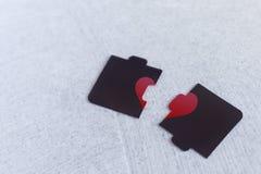 Free Broken Hearts Concept Royalty Free Stock Photos - 173998438