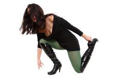 The broken heel Stock Image
