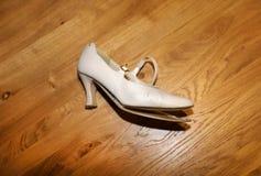 Broken High Heel Shoe Royalty Free Stock Photography