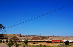 Broken Hill 'Line of Lode' Royalty Free Stock Images