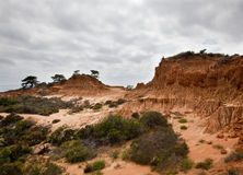Broken Hill in Torrey Pines State Park Royalty Free Stock Image