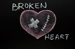 broken hjärta Arkivbilder