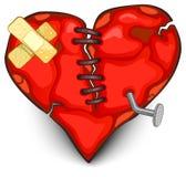 broken hjärta Arkivfoto