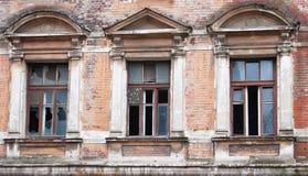 broken hus Arkivfoto