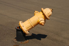 Broken Hydrant Stock Image