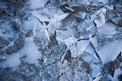 Broken ice Stock Image
