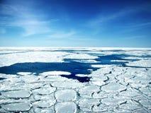 Broken Ice In Sea Stock Photography