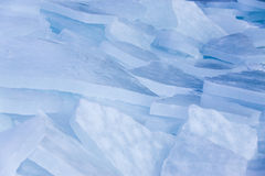 Broken ice. Royalty Free Stock Photos