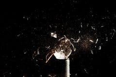 Broken Incandescent Light Bulb Royalty Free Stock Photo