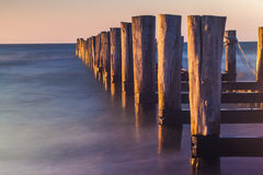 broken jetty Royalty Free Stock Photography