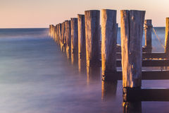 broken jetty Stock Photography