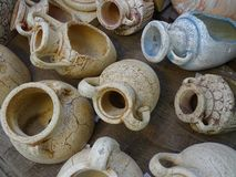 Broken jug Royalty Free Stock Image