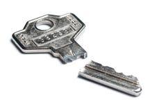 Broken key Royalty Free Stock Image