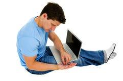Broken Laptop Stock Images