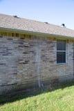 Broken  lawn sprinkler in the yard Stock Images