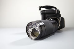 Broken lense Royalty Free Stock Images