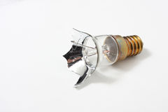 Broken lightbulb Royalty Free Stock Photos