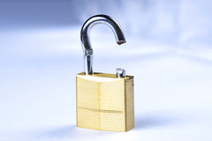 Broken Lock Royalty Free Stock Photos