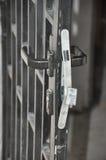 Broken lock Stock Photo