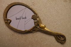Broken mirror Royalty Free Stock Photography