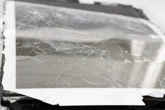 Broken mobile device. Stock Image