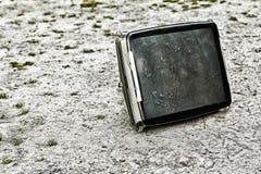 Broken monitor - HDR image Stock Image